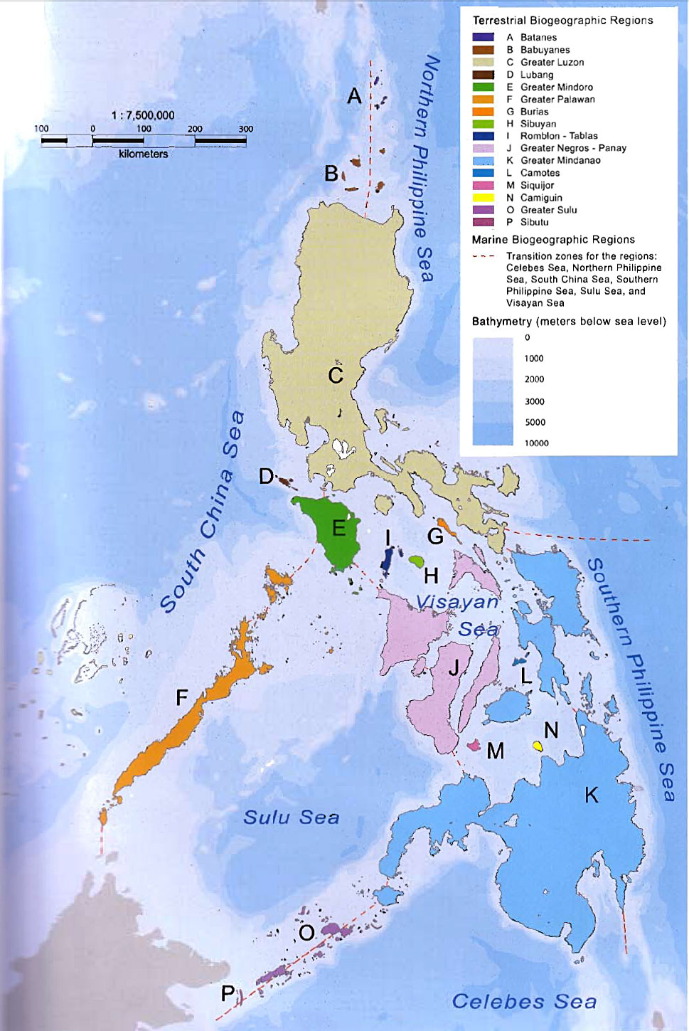 The Biogeographic Regions of the Philippines